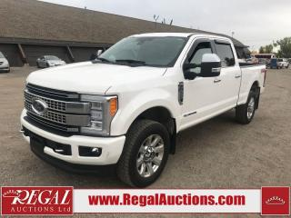Used 2017 Ford F-350 S/D PLATINUM CREW CAB SWB SRW 4WD for sale in Calgary, AB