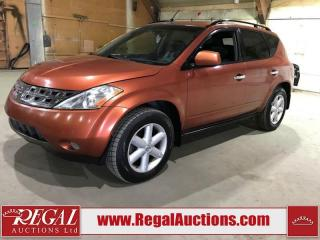 Used 2003 Nissan Murano 4D SPORT UTILITY AWD for sale in Calgary, AB