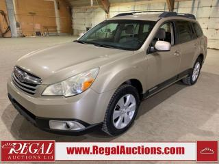 Used 2010 Subaru Outback 4D Wagon AWD for sale in Calgary, AB