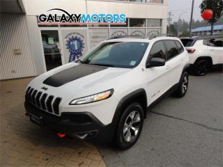 Used 2016 Jeep Cherokee Trailhawk for sale in Duncan, BC