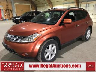 Used 2003 Nissan Murano 4D SPORT UTILITY for sale in Calgary, AB