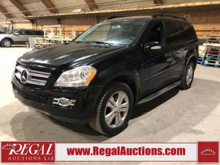 Used 2008 Mercedes-Benz GL450 GL-CLASS 4D Utility 4WD for sale in Calgary, AB