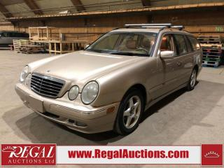 Used 2002 Mercedes-Benz E320 E-CLASS 4D Wagon AWD for sale in Calgary, AB