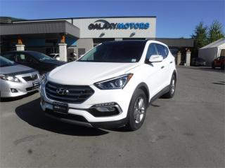 Used 2018 Hyundai Santa Fe Sport LUXURY-NAV, AWD, LEATHER for sale in Nanaimo, BC