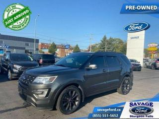 Used 2017 Ford Explorer XLT  - One owner - Trade-in - $227 B/W for sale in Sturgeon Falls, ON