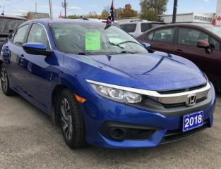 Used 2018 Honda Civic SE for sale in Brockville, ON