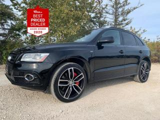 Used 2017 Audi SQ5 QUATTRO 3.0L SUPERCHARGED *DYNAMIC EDITION* for sale in Winnipeg, MB