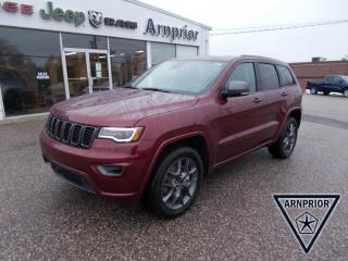 New 2021 Jeep Grand Cherokee 80th Anniversary Edition for sale in Arnprior, ON