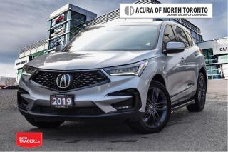 Used 2019 Acura RDX A-Spec at No Accident| Running Board| Winter Tires for sale in Thornhill, ON