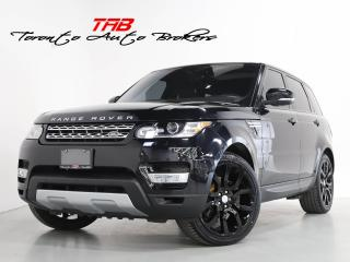 Used 2017 Land Rover Range Rover Sport Td6 HSE I PANO I NAV I 22 INCH WHEELS I CLEAN CARF for sale in Vaughan, ON
