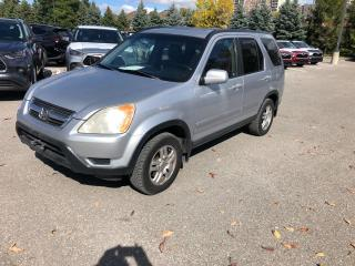 Used 2003 Honda CR-V EX for sale in Whitby, ON