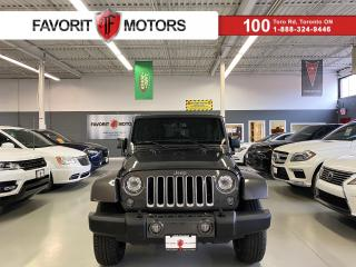 Used 2018 Jeep Wrangler JK Unlimited Sahara 4x4 *CERTIFIED!*|NAV|ALPINE|LEATHER|SOFTTOP for sale in North York, ON