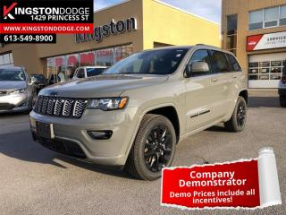 Used 2021 Jeep Grand Cherokee Laredo Altitude | Demo | Trailer Tow | ProTech Group for sale in Kingston, ON