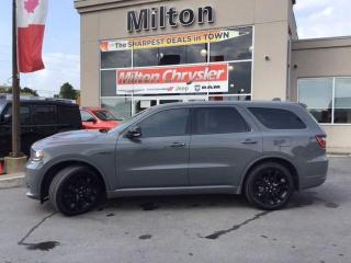 Used 2020 Dodge Durango R/T AWD|RED LEATHER|NAVIGATION|SUNROOF|DUAL DVD for sale in Milton, ON