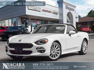 Used 2018 Fiat 124 Spider Lusso for sale in Niagara Falls, ON