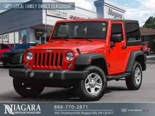 Used 2018 Jeep Wrangler JK Sport for sale in Niagara Falls, ON