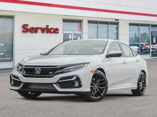 New 2020 Honda Civic Sedan SI MT for sale in Brandon, MB