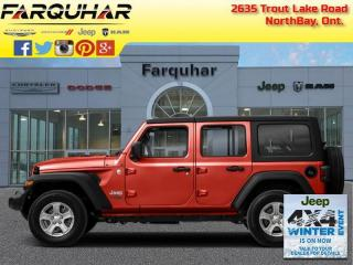 New 2021 Jeep Wrangler SPORT for sale in North Bay, ON