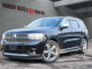 Used 2012 Dodge Durango Citadel 4x4 Leather Fully Jammed for sale in Mississauga, ON
