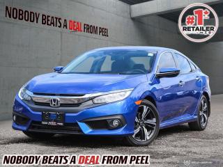 Used 2016 Honda Civic Sedan 4dr CVT Touring for sale in Mississauga, ON