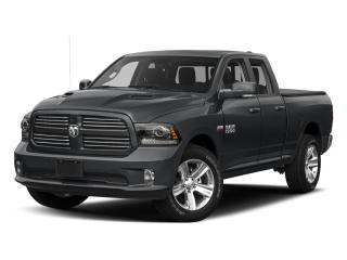 Used 2017 RAM 1500 4WD Quad Cab 140.5  Sport for sale in Mississauga, ON