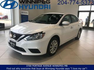 Used 2019 Nissan Sentra SV for sale in Winnipeg, MB