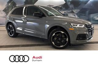 Used 2020 Audi Q5 45 Technik + Blk Package | Drive Assist | CarPlay for sale in Whitby, ON