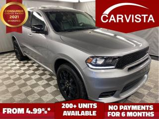 Used 2019 Dodge Durango GT BLACKTOP AWD - NO ACCIDENTS/FACTORY WARRANTY - for sale in Winnipeg, MB