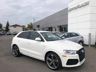 Used 2017 Audi Q3 2.0T Progressiv S-Line Quattro *Toit-Pano-Roof for sale in Saint-Hubert, QC