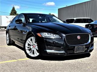 Used 2018 Jaguar XF AWD|SUNROOF|HEATED MEMORY SEATS|NAVIGATION|REAR VIEW! for sale in Brampton, ON