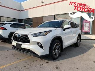 New 2021 Toyota Highlander HYBRID HYBRID XLE AWD Highlander Hybrid XLE - Premiu for sale in Mississauga, ON