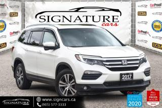 Used 2017 Honda Pilot 4WD 4dr EX-L w/RES. NO ACCIDENT. ONE OWNER. ALL OPTION. for sale in Mississauga, ON