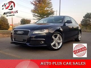 Used 2011 Audi A4 4dr Sdn Auto quattro 2.0T Premium Plus I  safety included. for sale in Scarborough, ON