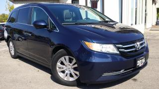Used 2016 Honda Odyssey EX-L - LEATHER! BACK-UP/BLIND-SPOT CAM! DVD! 8 PASS! for sale in Kitchener, ON