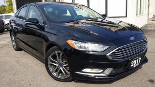 Used 2017 Ford Fusion SE - BACK-UP CAM! HEATED SEATS! CAR PLAY! TOUCH SCREEN! for sale in Kitchener, ON