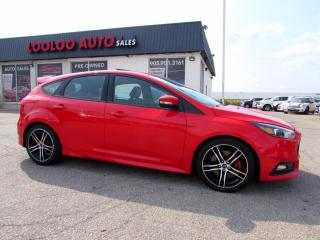 Used 2016 Ford Focus ST Hatch NAVIGATION 6 SPD MANUAL CERTIFIED for sale in Milton, ON