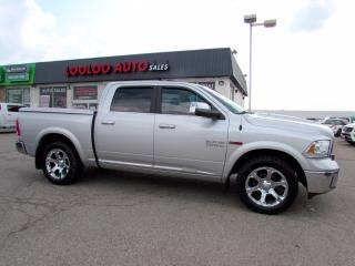 Used 2015 RAM 1500 Limited Longhorn Crew Cab 4WD Diesel Navi Camera for sale in Milton, ON