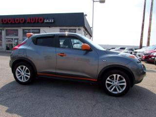 Used 2013 Nissan Juke SL1.6L  Automatic Bluetooth No Accident Certified for sale in Milton, ON