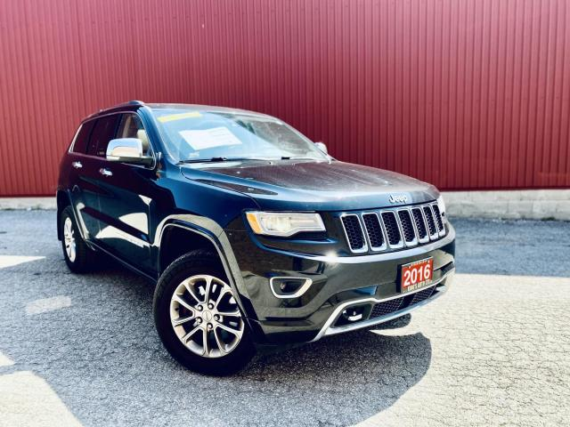 2016 Jeep Grand Cherokee Limited 4WD, LEATHER, SUNROOF, BACKUP-CAMERA!
