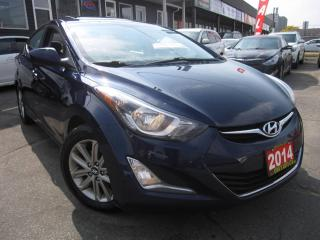 Used 2014 Hyundai Elantra SE, SUNROOF, B-CAM SUNROOF, BACKUP- CAMERA for sale in Scarborough, ON