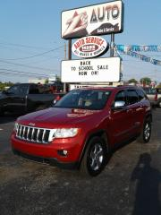 Used 2011 Jeep Grand Cherokee Limited NAV ONE OWNER 4WD PANORAMA for sale in Windsor, ON