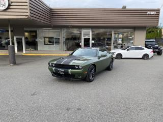 Used 2019 Dodge Challenger SXT PLUS - AWD WITH AUTONOMOUS BRAKING for sale in Langley, BC