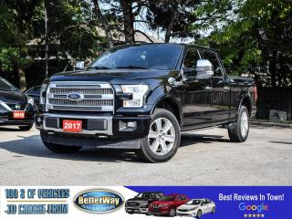 Used 2017 Ford F-150 PLATINUM for sale in Stoney Creek, ON