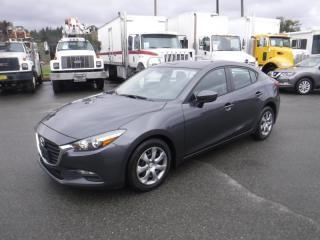 Used 2017 Mazda MAZDA3 i Sport 4-Door Manual for sale in Burnaby, BC