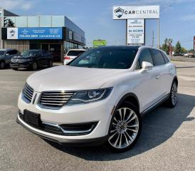 Used 2017 Lincoln MKX Reserve | 102A | AWD | NAVI | MOONROOF | for sale in Barrie, ON