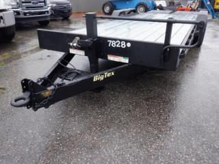 Used 2016 Big Tex 14 ET 22.3 Foot Tandem Axle Flat Deck Trailer for sale in Burnaby, BC