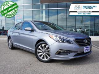 Used 2016 Hyundai Sonata LOW KM | 1 OWNER | HTD SEATS  - $126 B/W for sale in Brantford, ON
