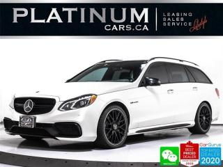 Used 2014 Mercedes-Benz E-Class E63 AMG 4MATIC, WAGON, CARBON CERAMIC, NAV, PANO for sale in Toronto, ON