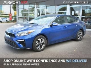 Used 2019 Kia Forte EX / No Accident / Back-up Camera/Android Auto Apple Car Play/ Heated seats and steering/ Blind spot indicator/ rear cross traffic alert/ wireless phone charger/Clear Out Price! for sale in Mississauga, ON