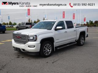 Used 2016 GMC Sierra 1500 Denali  - Navigation -  Leather Seats for sale in Kanata, ON